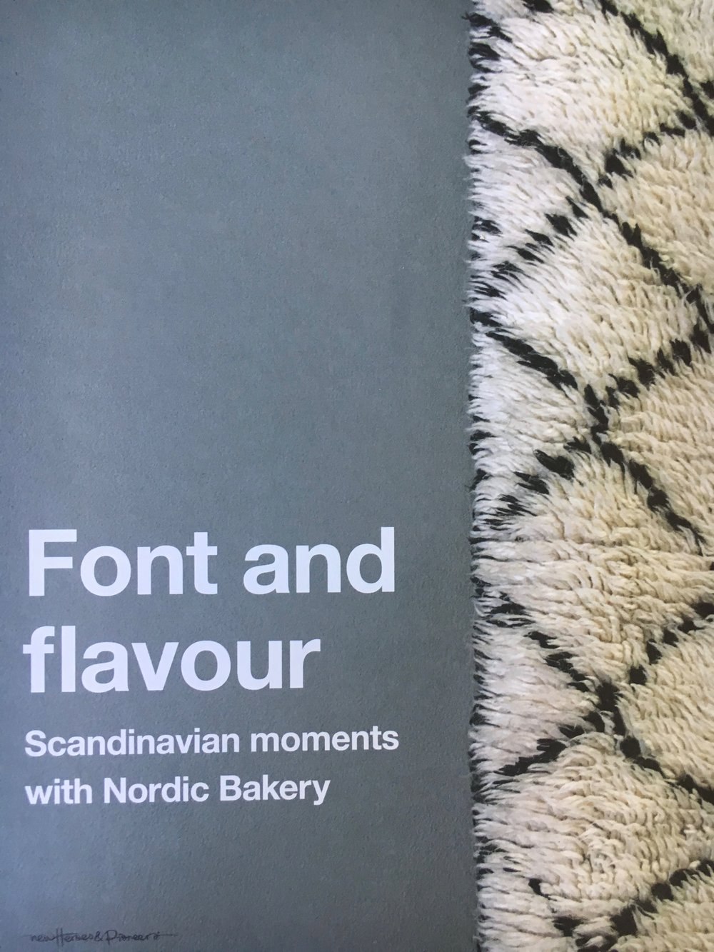 - I co-wrote and copy edited this 150 page lifestyle book for London based Nordic Bakery. Publisher: NHP