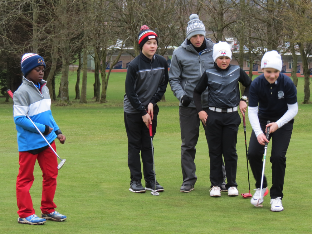 Worcestershire County Golf Putting session