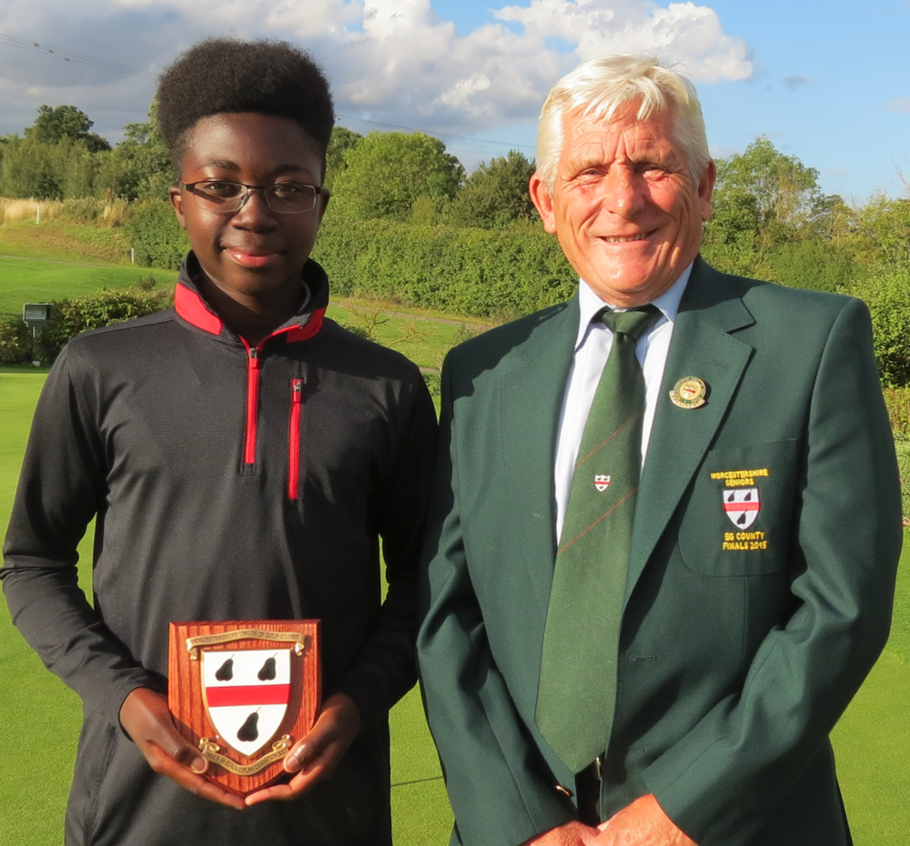 2017 U16s Worcestershire County Golf Stroke Play Champion
