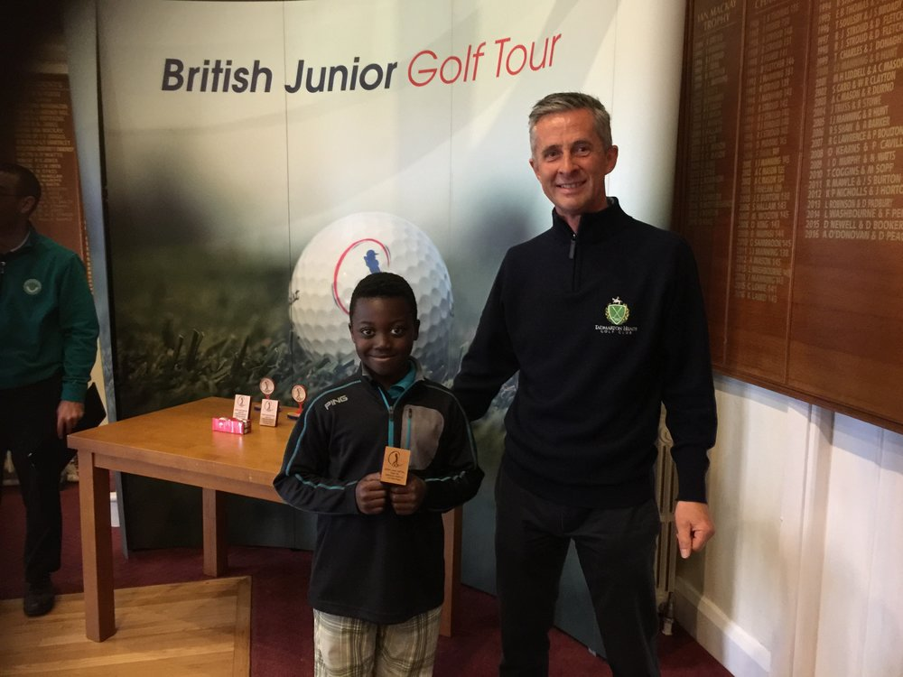 2017 BJGT U8's Tournament  Tadmarton GC