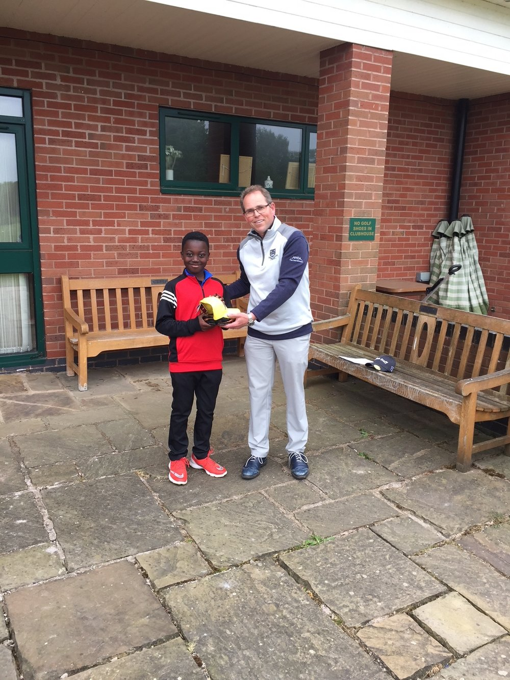 2018 'Winner' Junior Open -  Churchill & Blakedown GC