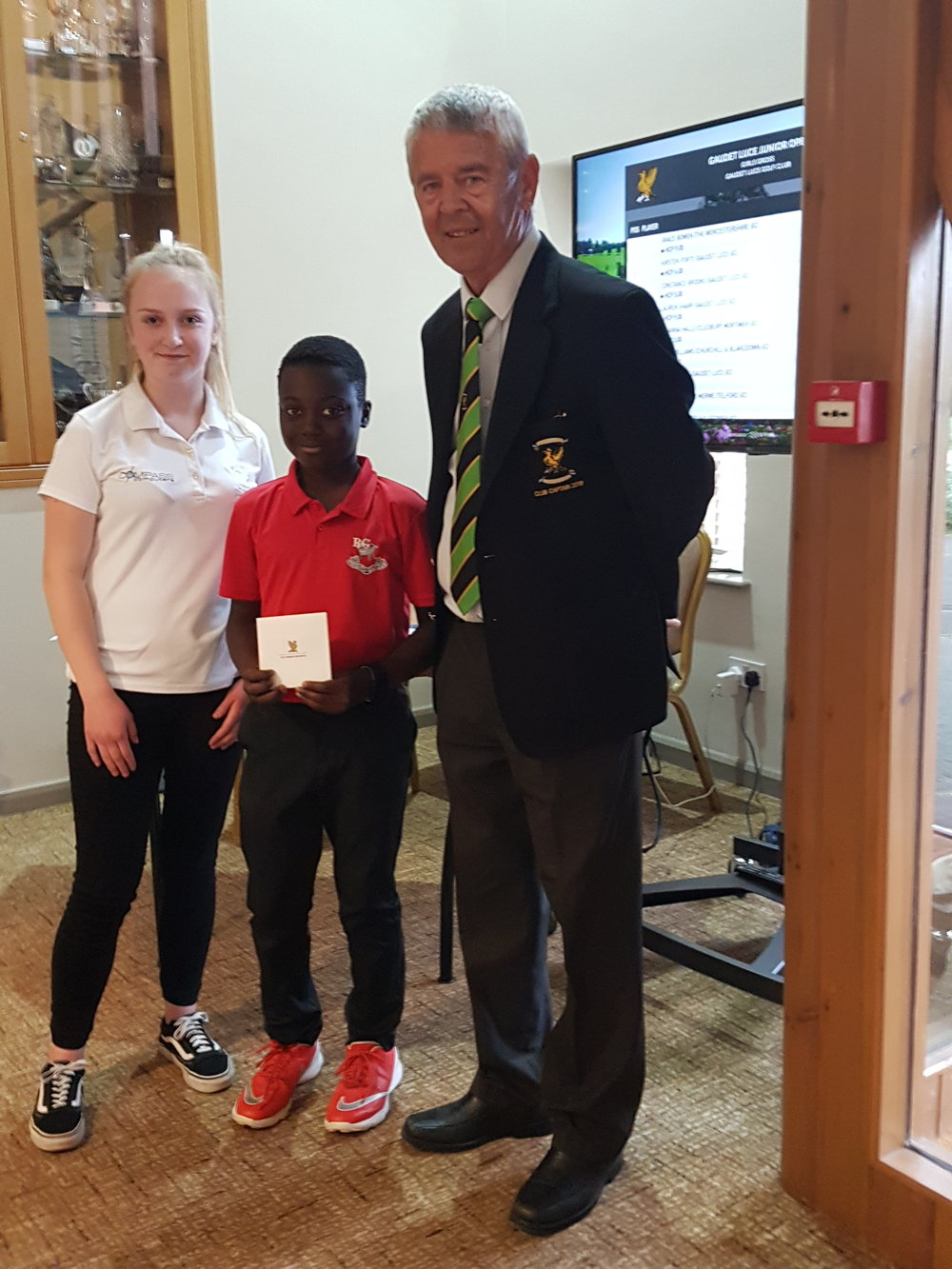 2018 Runner-up Junior Open 'Daily Telelgraph' Gaudet Luce GC