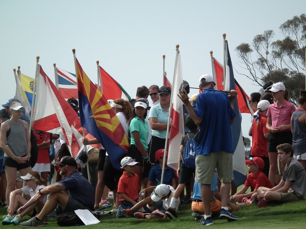 2018 IMG Junior World Opening Ceremony Torrey Pines San Diego