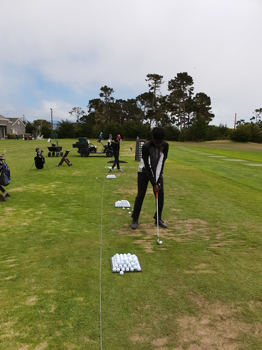 2018 Driving Range Pebble beach GC
