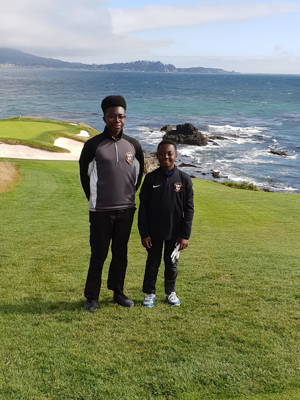 2018 Brandon & Hayden Pebble Beach Golf Club