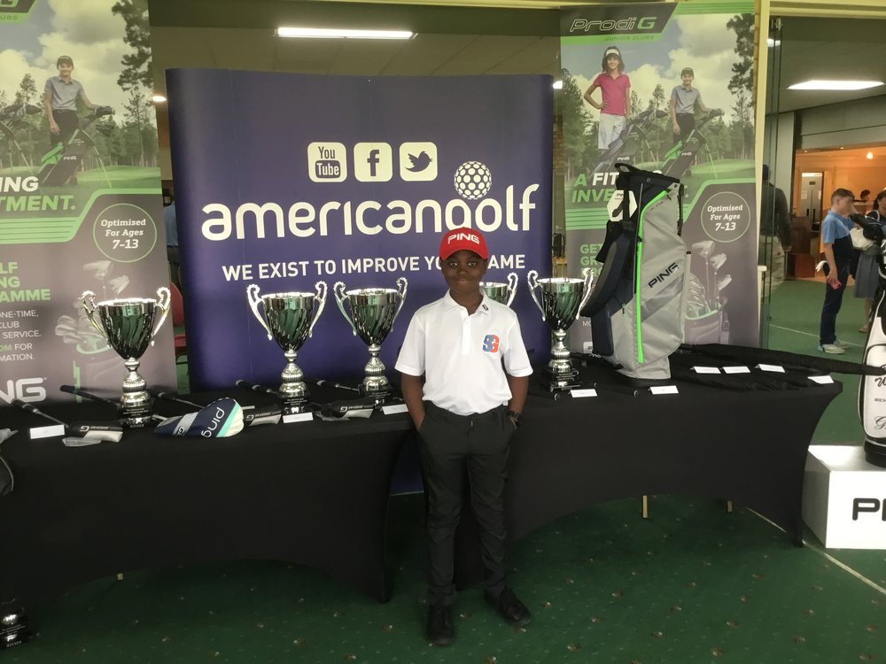 2018 Winner American Golf Junior Champion