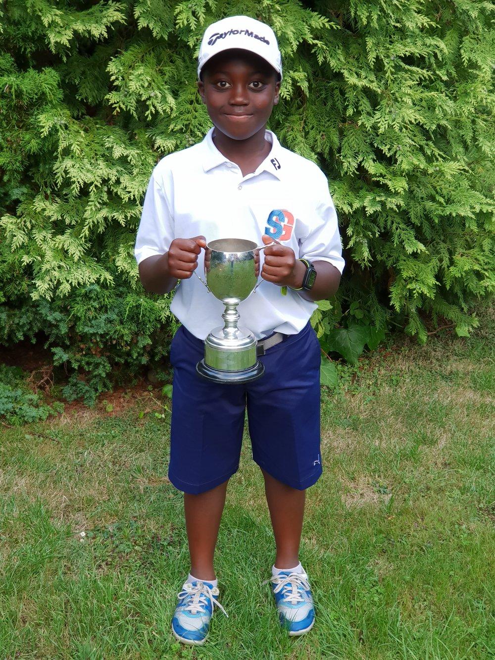 2018 'Winner' Junior Boys Open - Droitwich GC