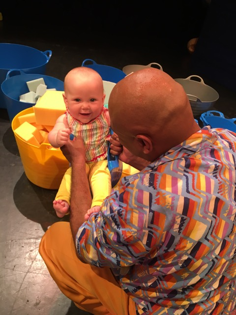 2. Being light and playful whilst also truthful to a range of emotions. Babies are masters of observation, they see and experience a range of emotions. -