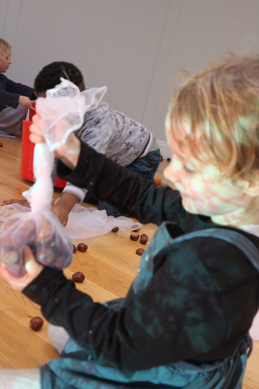Conker pockets - Sooo easy to make… what can you put in your pocket?