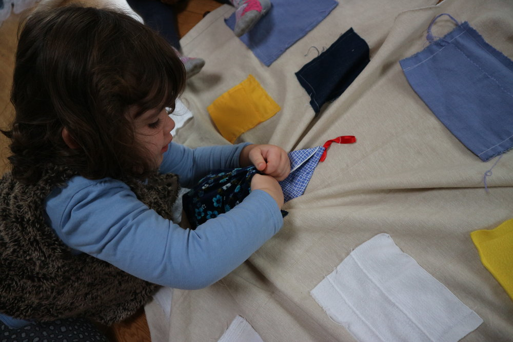 What's in the pockets? - Finding out, investigating…..