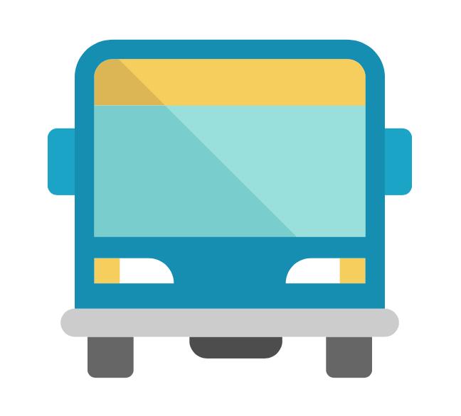 Bus o transporte de material opcional