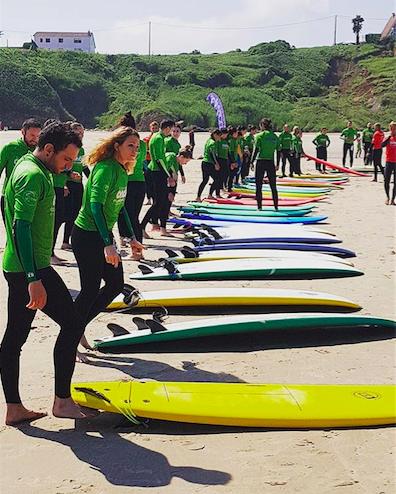 Surfcamp san vicente 1