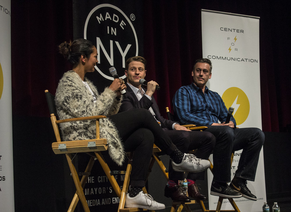 CENCOM EVENT: GOTHAM star and executive producer give students advice.