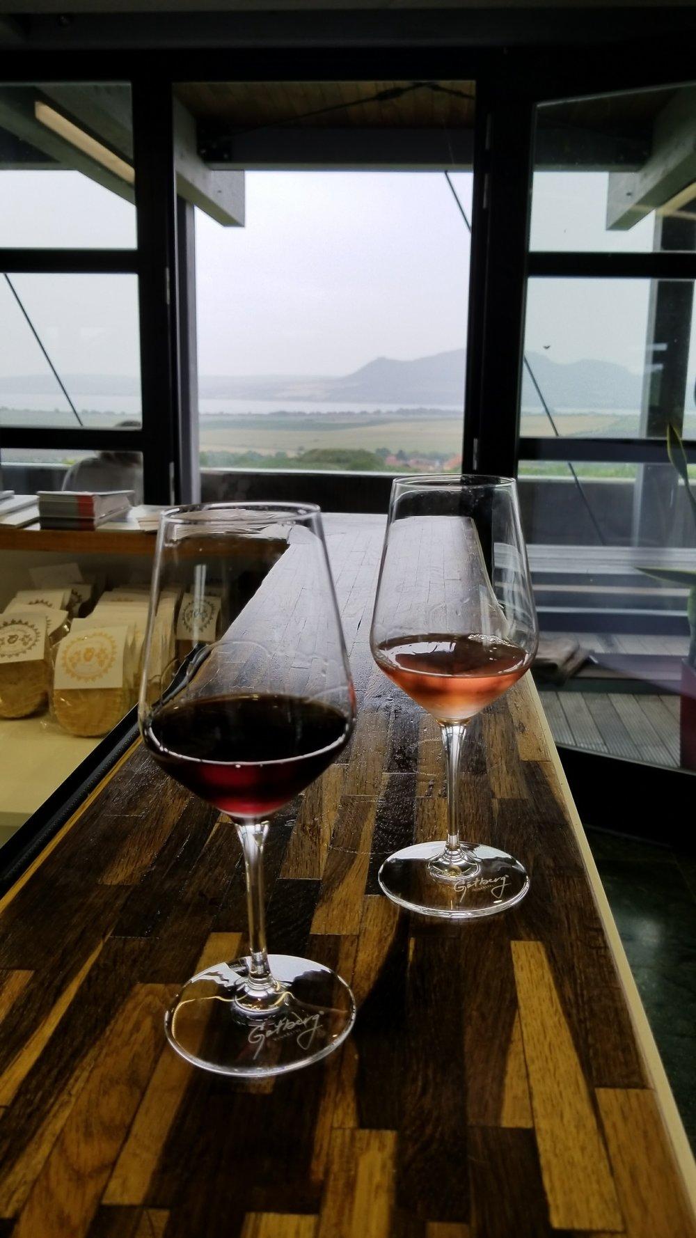 Wine tasting at Gotberg