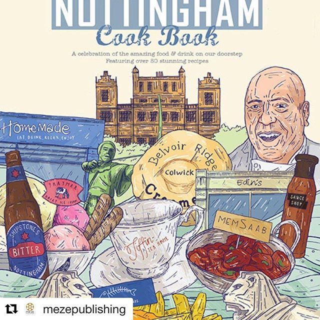 #Repost @mezepublishing It's been almost 3 years since #TheNottinghamCookBook came out and it was such a success that we're doing a 2nd one! GET IN TOUCH, LIKE & COMMENT! #mezepublishing #nottinghamcookbooksecondhelpings #nottingham #recipes #goodfood