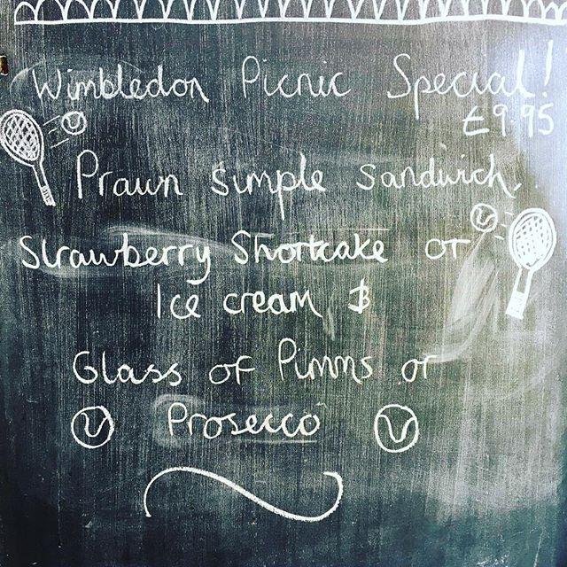 Get away from the racket of the city centre this week and visit us for our delicious Wimbledon picnic, it's definitely the set for you. As well as this offer we'll have other ace treats to choose from, so make sure you come in because we're going all OUT! #wimbledon #theacaffea #nottingham