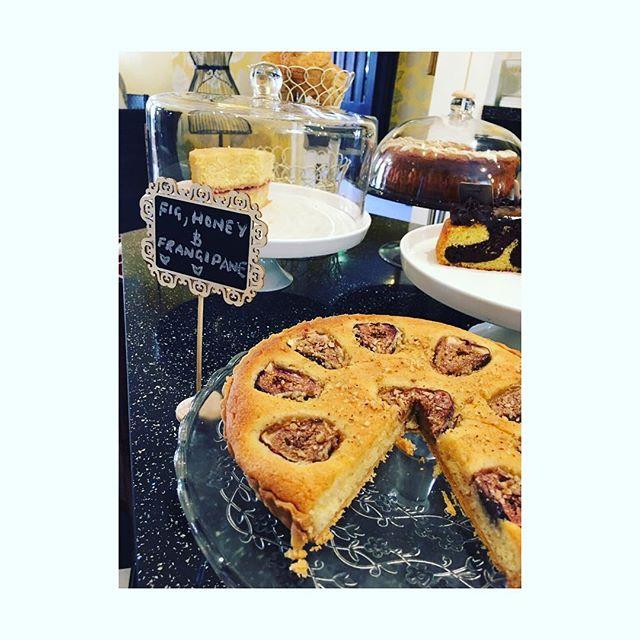 How about a fig, honey and frangipane for Greek week? . . . #greekweek #figandfrangipanetart #cakes #candyscakes #tearoom #cakelover #cakestyle #cakestagram #cakeaddict #honey #tuesdaytreat #tuesdays #tuesday #notts #nottsfood #foody #nottscity #nottsindependents #supportlocal