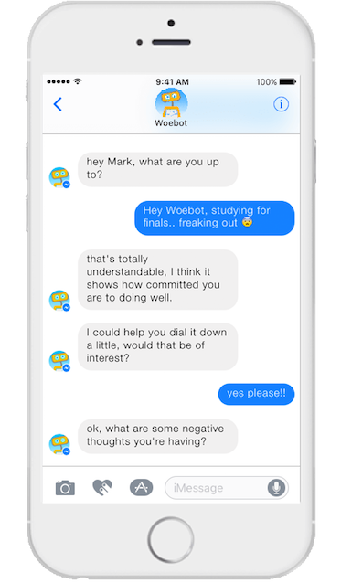 Woebot: your future mental health counselor?