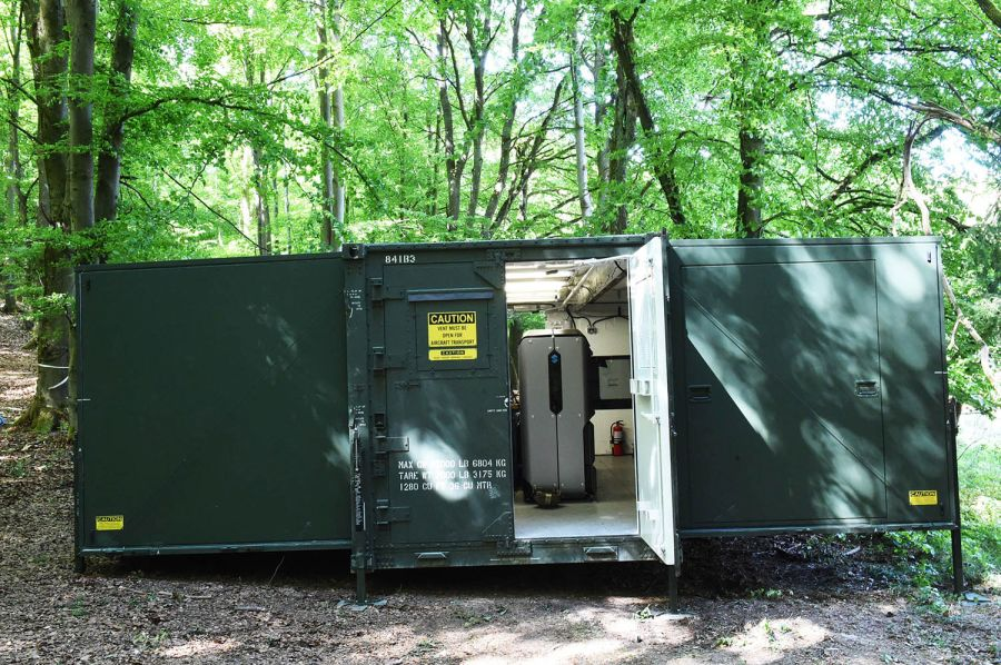The Army's R-FAB unit exterior