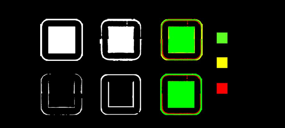 AutoCorrection Graphical Depiction