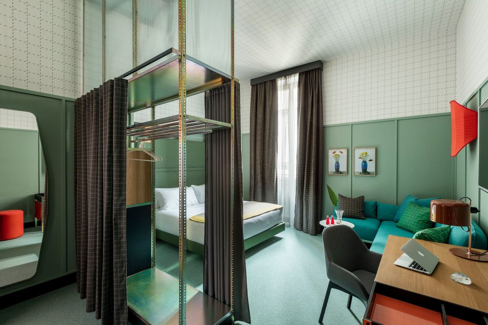 Room Mate Hotel Interior by Patricia Urquiola