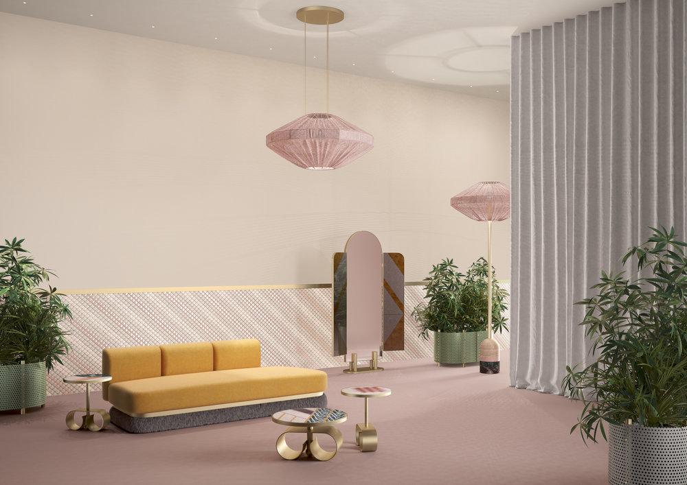 VIP Happy Room by Celestino Cristina for Fendiat Design Miami