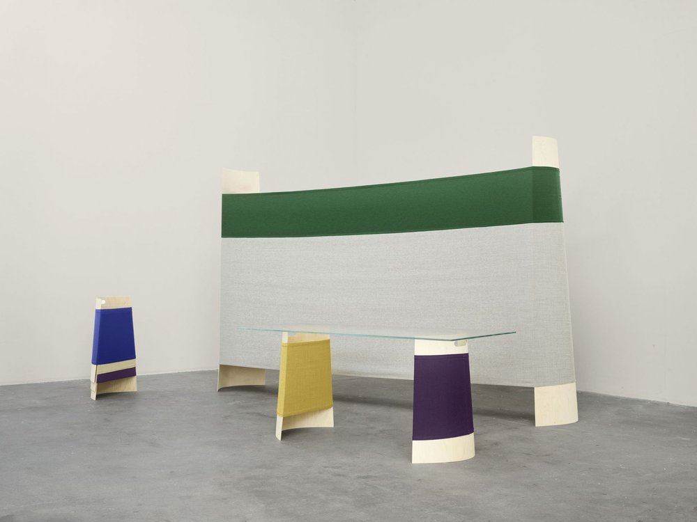 Tension at Work von Martha Schwindling für My Canvas von Kvadrat