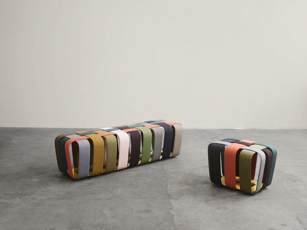 Woven Bench von Atelier Max Lipsey für My Canvas von Kvadrat