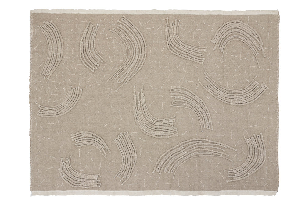 Quilt rug from the Inventory collection by Faye Toogood and CC Tapis