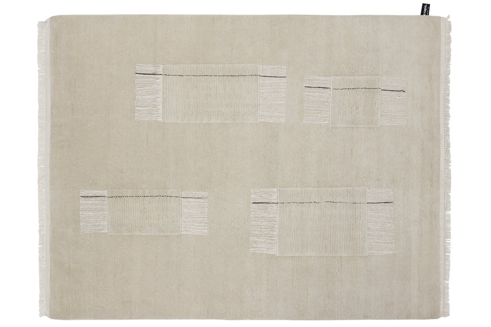 Thread rug from the Inventory collection by Faye Toogood and CC Tapis