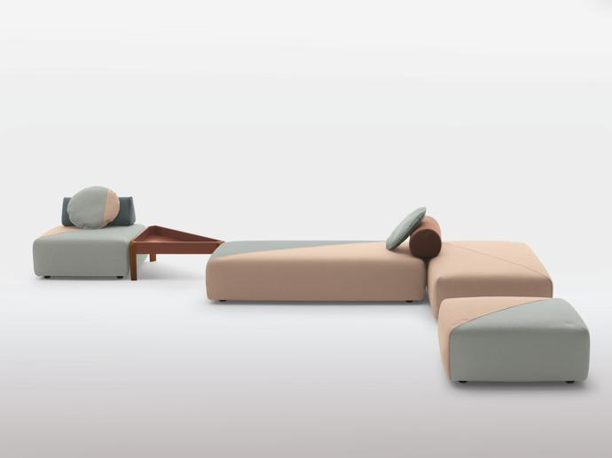 Brixx Sofa by Lorenza Bozzoli for Dedon