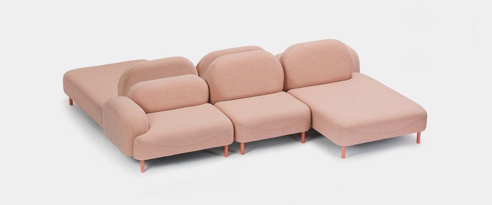 Scafell-Sofa von Deadgood, Brixx-Sofa von Lorenza Bozzoli für Dedon