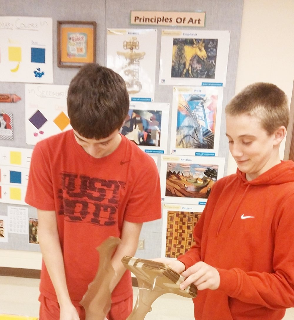 bringing art + culture to the next generation - Morristown Junior and Senior High Schools have more creative opportunities thanks to BRCF and its community grant.