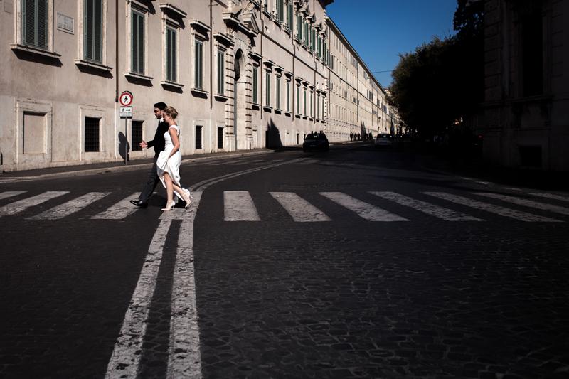 Kate & Ben - Rome, Italy.
