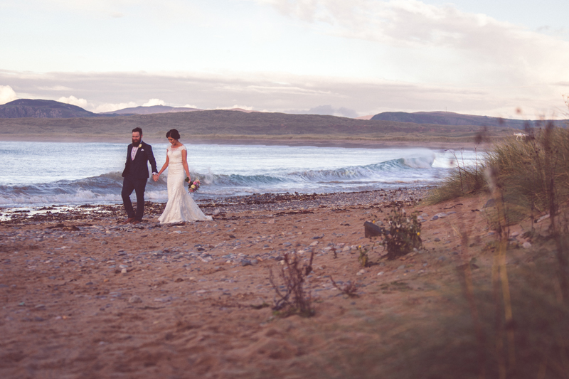 Eimhear & Paul - Ballyliffin Lodge, Donegal