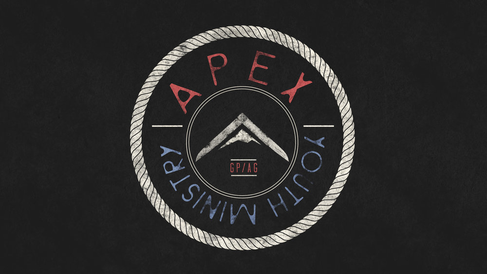 Apex Youth - A place where our youth can belong, and experience the love of Christ in a real and genuine way through worship, teaching and relationship.  We meet on Wednesday nights at 6:30 for a worship service, have fun activities throughout the year and attend camp and youth convention each year.