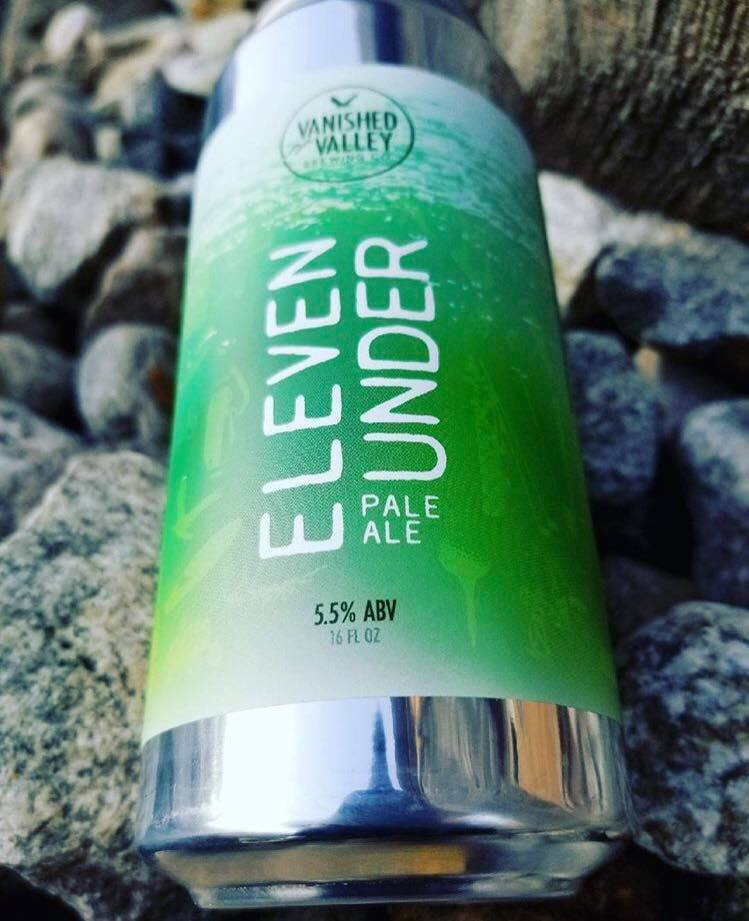 Eleven Under Pale Ale, 5.5%   Formerly known as XP #11, this popular pale ale featuring Lemondrop hops has returned into our permanent rotation! At 5.5% ABV, it is light yet flavorful.
