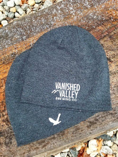 5307570321e Charcoal Slouch Winter Hat — Vanished Valley Brewing Company