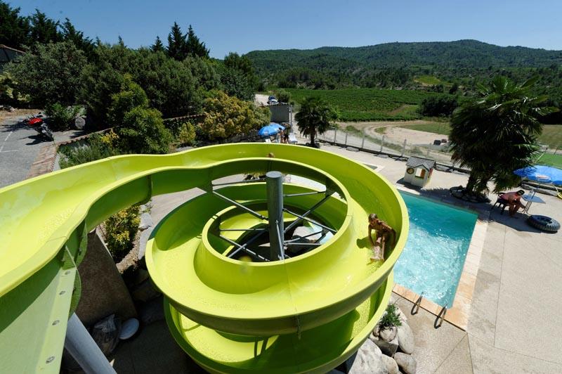 CampingLeChamadou-Ardèche-4étoiles-TobogganAquatique-Waterslide2