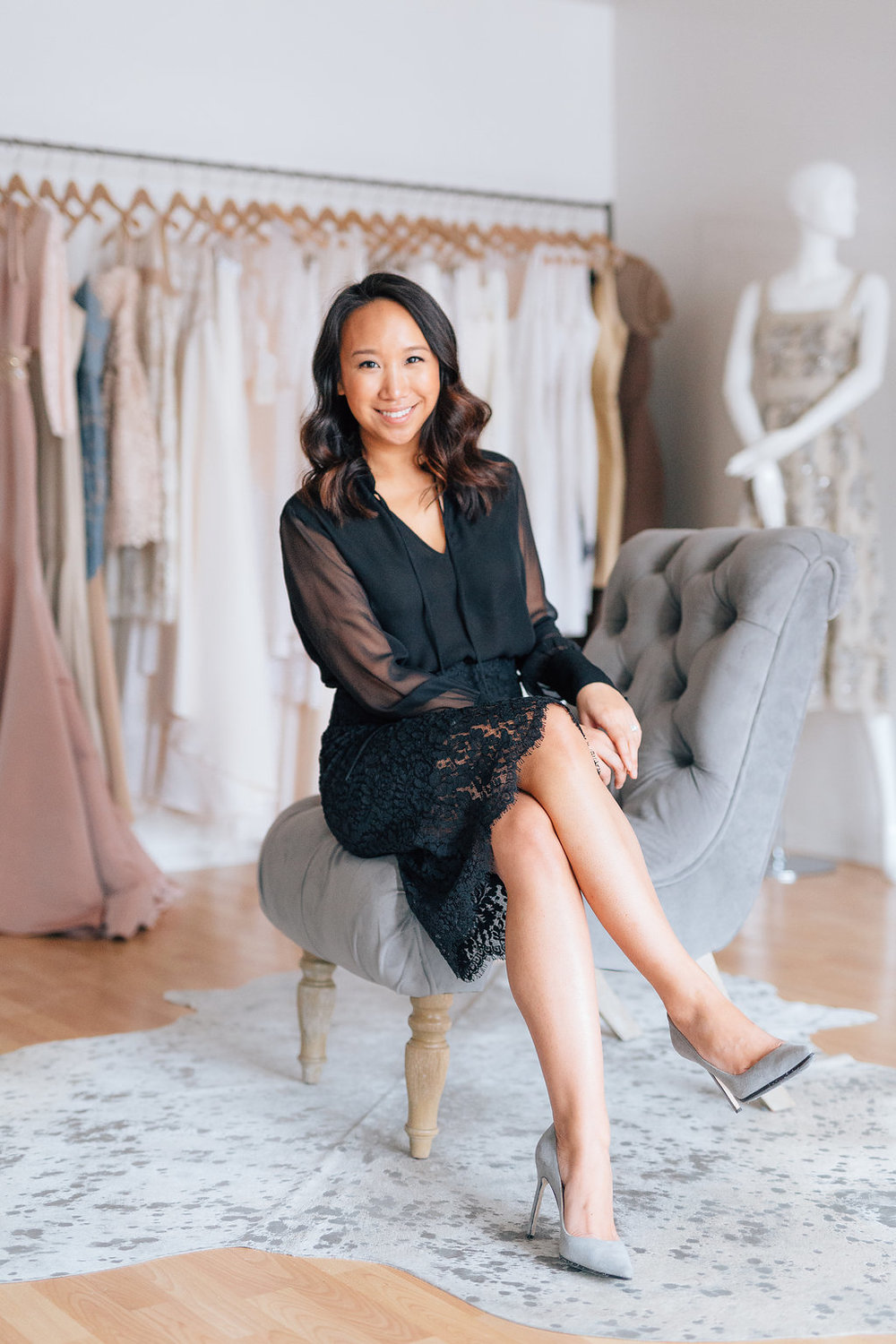 KATIE FONG  FOUNDER OF KATIE FONG COLLECTION