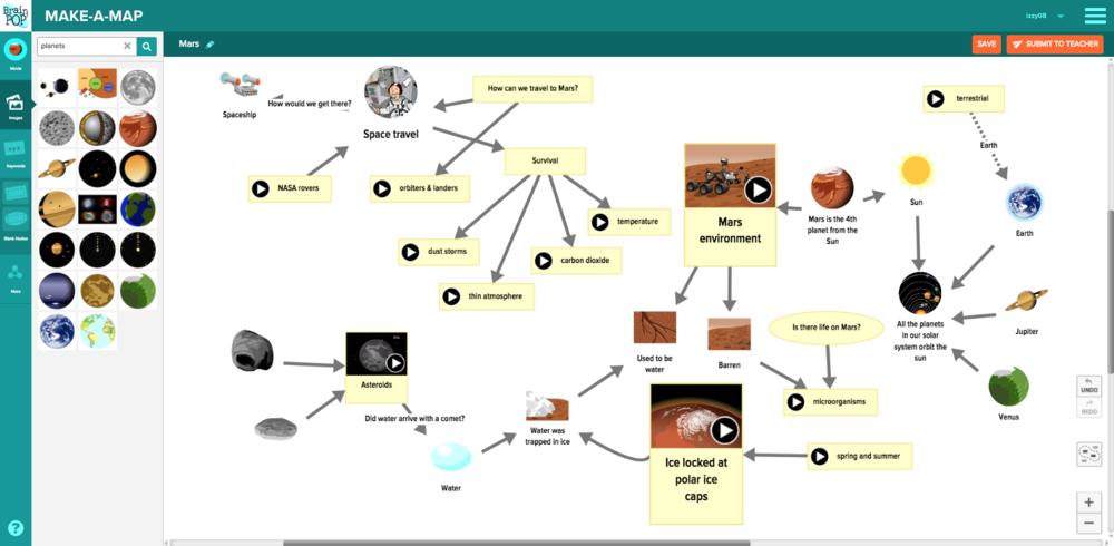 Make a Map - Mars