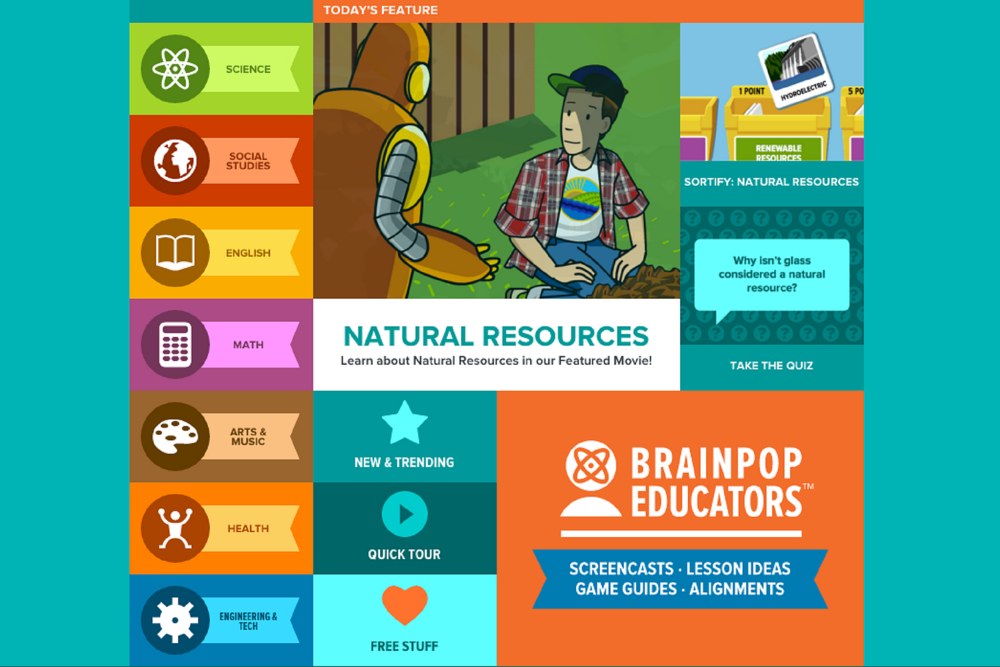Introduce, engage, & master curriculum topics - With an emphasis on development of high-level thinking skills, your students will use BrainPOP to spark deeper understanding and creative construction around our content.