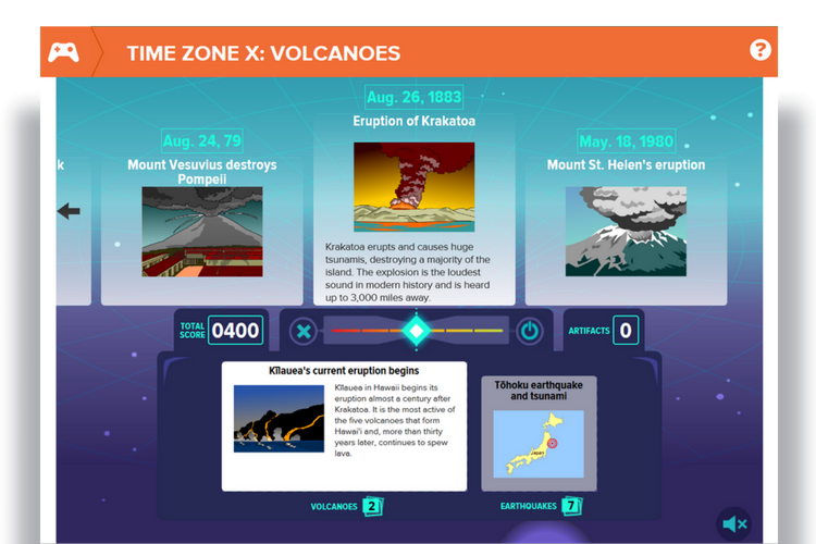 BrainPOP Time Zone X Volcanoes