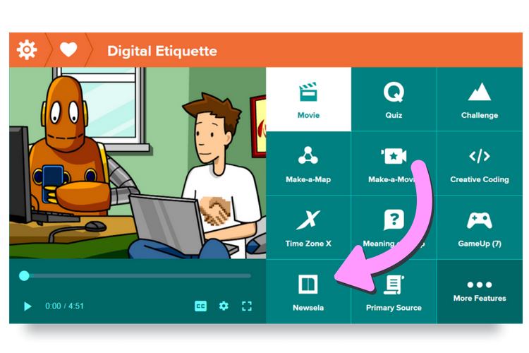 Newslea on BrainPOP