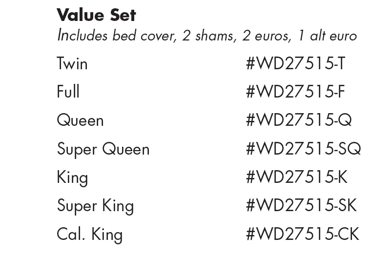WD27515 Adobe Quarry Value Set