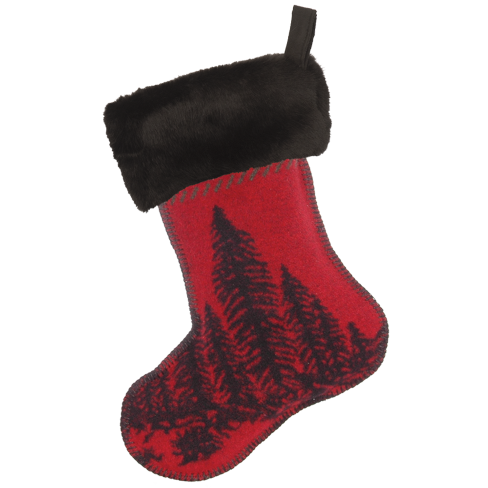 Wooded River Bear Stocking - 14
