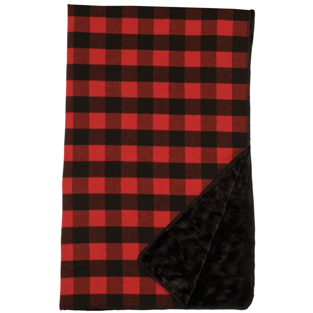 Buffalo Plaid Throw - 60