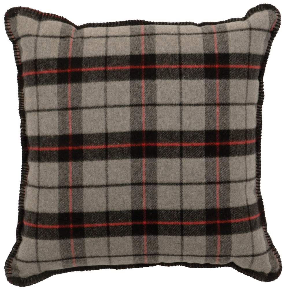 Ponderosa Plaid Pillow - 20