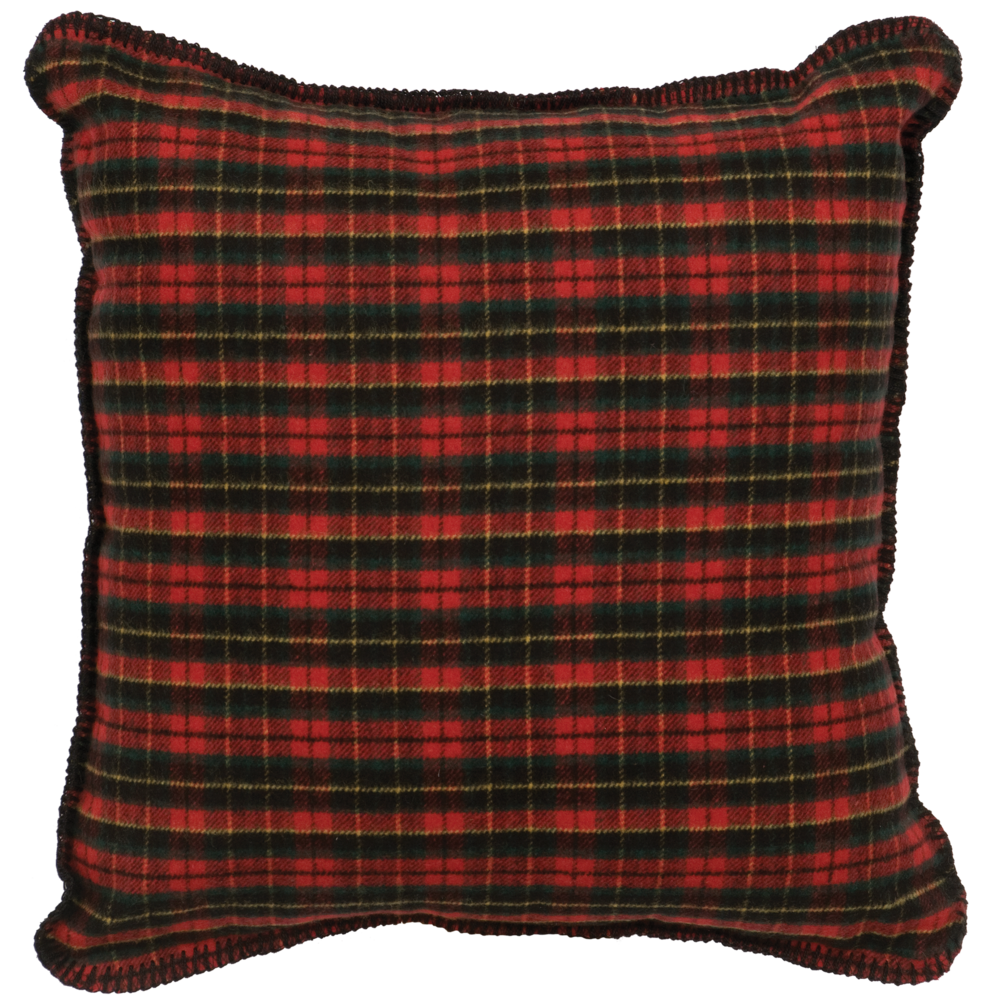 Wooded River Plaid 1 Pillow - 20