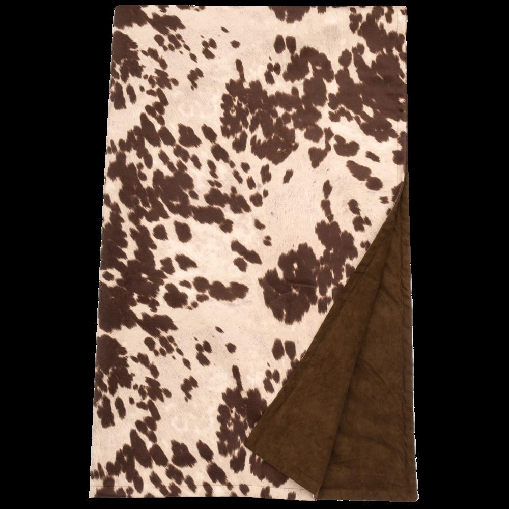 Udder Brown Throw - 54